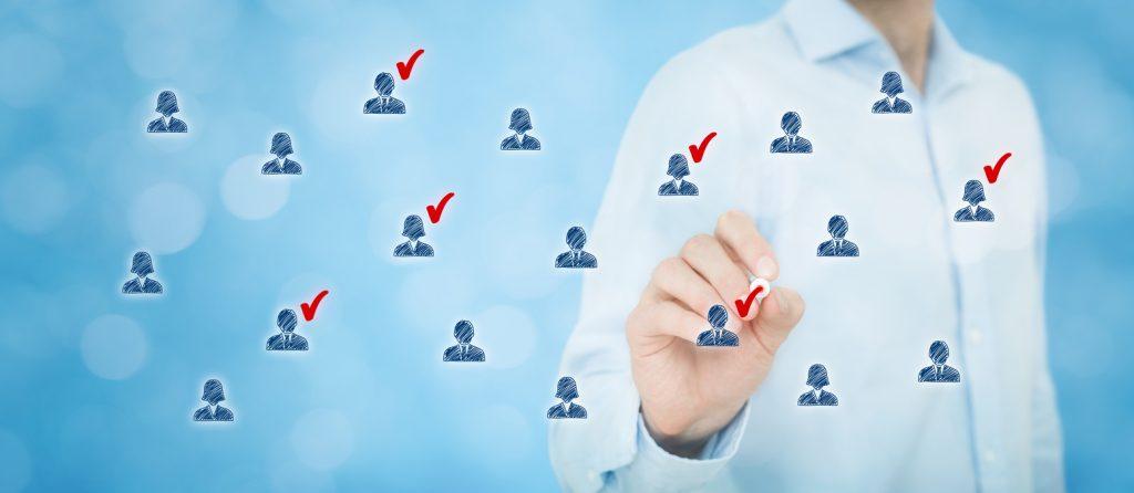 Marketing segmentation, target audience, customer care