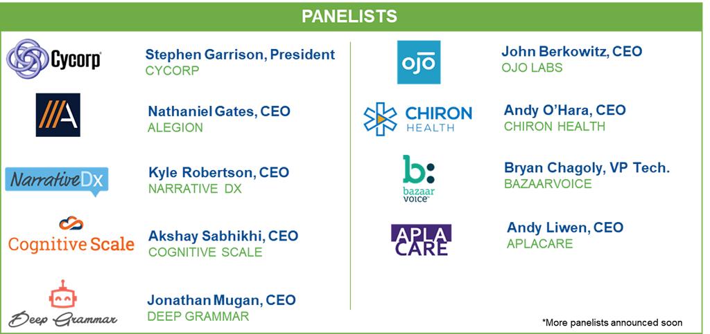 Panelists_Sponsors_Austin AI Conference